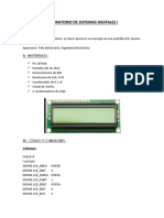 Laboratorio de Sistemas Digitales i