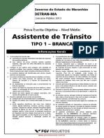 Astra Prova Tipo 01 assistente de transito
