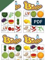 Bingo Fruits&Vegetables