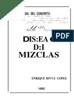 Diseño de Mezclas enrique Rivva Lopez