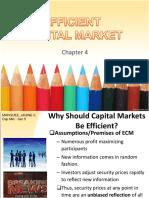 Efficient Capital Market Powerpoint 1