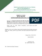 4.3.BERITA ACARA REVIU REVISI  KURIKULUM SDN 004 SANGATA U~1