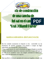 Proyecto Alquiler Canchas