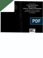Hess, Harmut - Materiales Trabajo Partidario