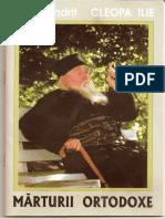 Marturii Ortodoxe de Parintele Cleopa Ilie