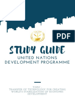 Study Guide Undp by Sdctm