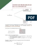 Distribuciones de Probabilidad Para Va Continuas (2)