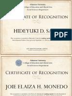 Certificate Revalida&Casestudy