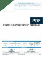 Fm Div01 Qaqc 0171 Customer Satisfaction Feedback