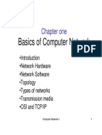 Chapter I- Basics of Computer Network