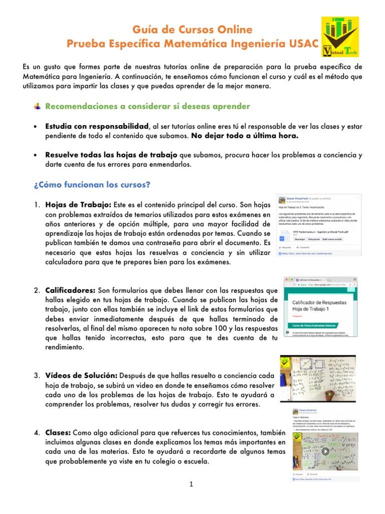Guia de Curso y Examen Diagnostico (1)