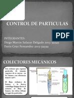 Control de Particulas