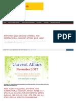 pakistan currentaffairs nov 2017