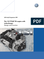 SSP 443 1.2L 77kW TSI Engine With Turbocharger