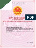 GNN QSD Dat Khu B - Tran Thai Cam Ranh