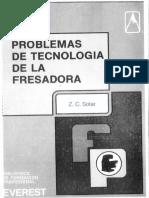 Problemas de tecnologia de la fresadora