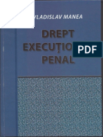 Executional Penal - Manea - 5 Teme
