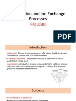 Adsorption and Ion Exchange Processes