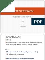 Ekstraksi_Cair-Cair & Padat-Cair 2017