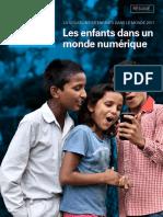 """La situation des enfants dans le monde 2017 """"Les enfants dans un monde numérique"""""""