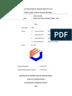 Laporan Praktikum Teknik Perawatan Motor Listrik