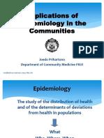 Epidemiologi Di Komunitas (16 Sept 2013)
