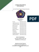 Laporan Praktikum Fitofarmaka kelompok 1