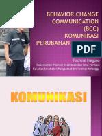 """teori perubahan perilaku """"behavior change comunication"""""""