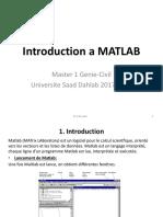 1 Introduction a MATLAB 17 18