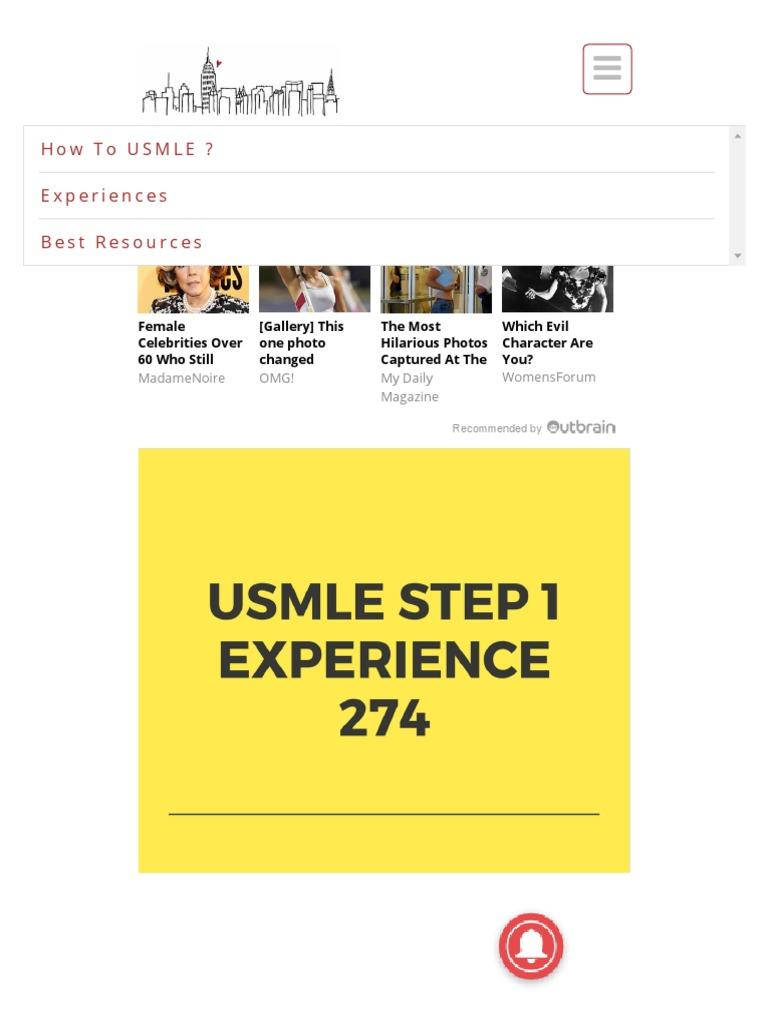 USMLE Step 1 - 274 - NBME, Anatomy, Behavioural Science - How to