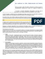 Resumen - Gobernanza multinivel en CHile