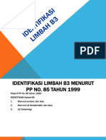Identifikasi Limbah B3.ppt