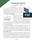 Problem Sheet-01 ME502 Introduction
