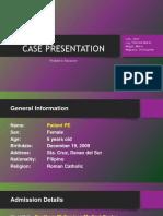 Hsp Case Presentation PDF