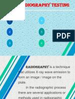 Radiography Testing