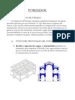 Tipologia de Forjados de Edificación.