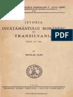Istoria învăţământului românesc din Transilvania până la 1800.pdf