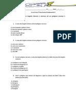 Lista de Exercicios-soma Dos Angulos de Poligonos Convexos e Numero de Diagonais de Um Poligono Convexo150420140830