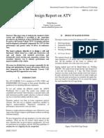 Design Report on ATV