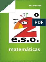 Libro Matematicas 2ESO