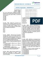 Ufc-Detran - Questões Selecionadas - Lista 01