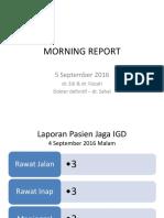 Morning Report 5.9.16