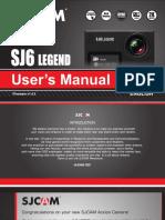 SJCAM SJ6-Legend User Manual 2017