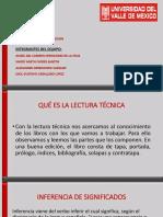 diapositiva lectura