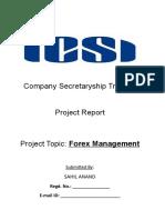 Forex Management PR.doc