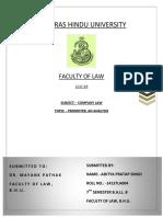 Company Law (4)