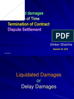 LD-EOT-Termination of Contract - Dispute Settlement