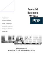 Powerful business writing.pdf