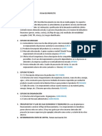 Ficha de Proyecto a Elaborar