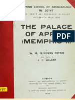 Petrie_The Palace of Apries (Memphis II)